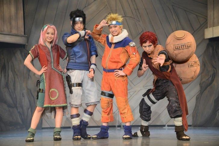 naruto-stage-musical Naruto Müzikalinden İlk Görüntüler