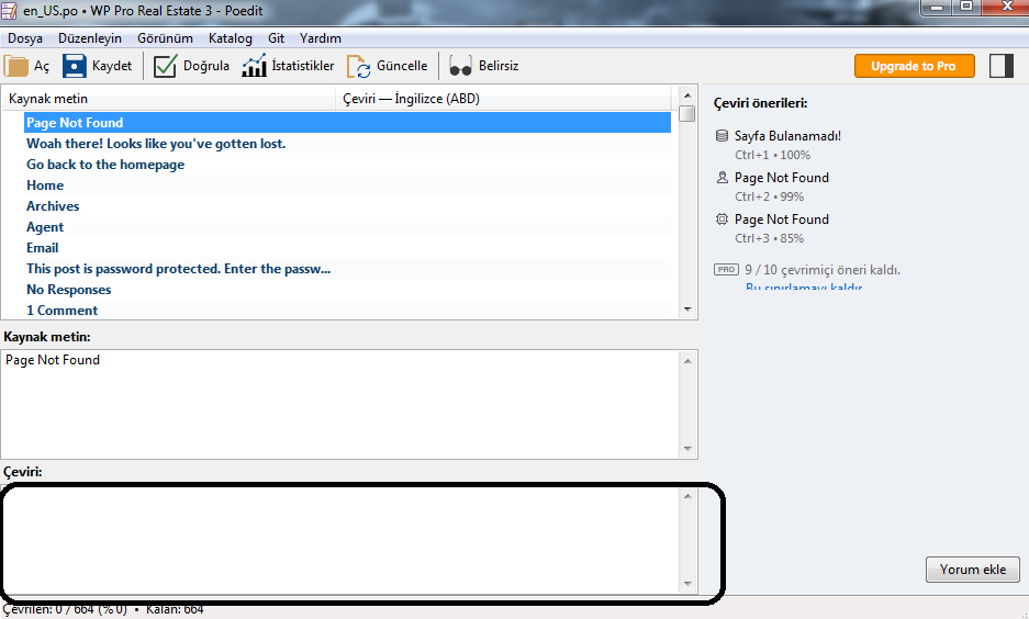 4 WordPress Tema Türkçeleştirme