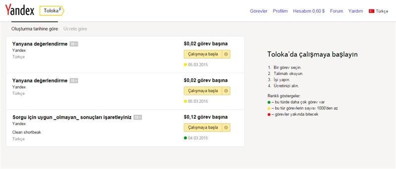 XBlr9D Yandex Toloka İle Para Kazanma