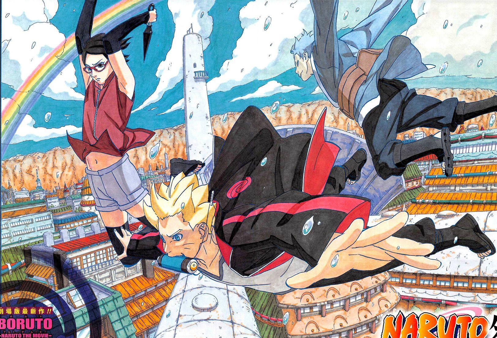 KspeIEf Boruto: Naruto the Movie'un Yeni Fragmanları