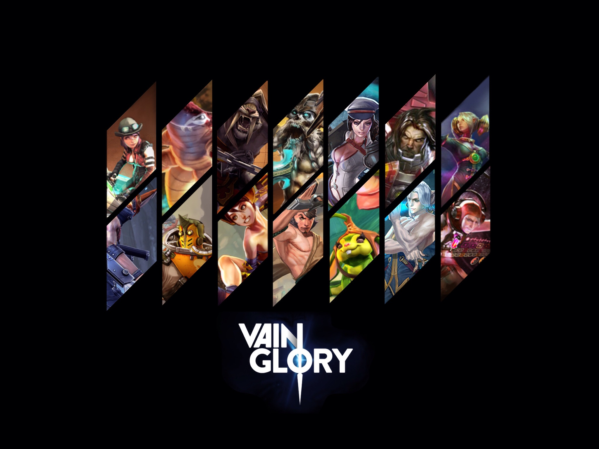 Vainglory Vainglory'nin MOBA'sı Android'e geliyor!