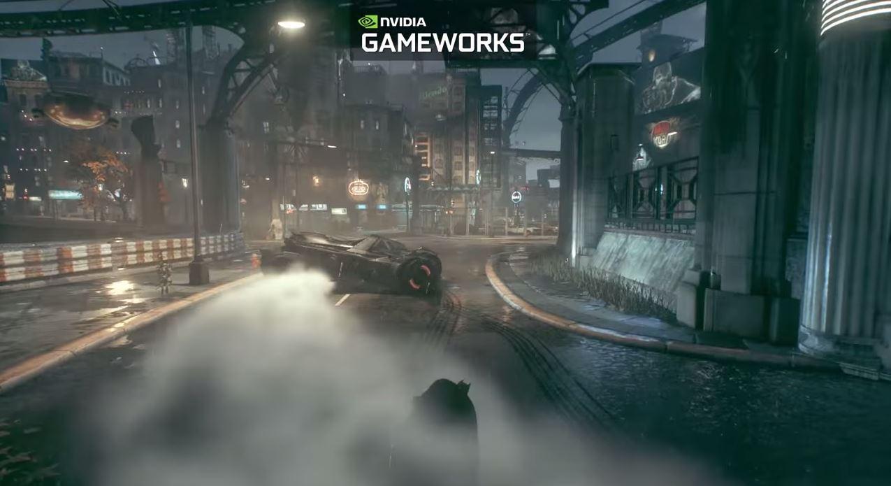 batman-gameworks Batman: Arkham Knight NVIDIA Gameworks Videosu
