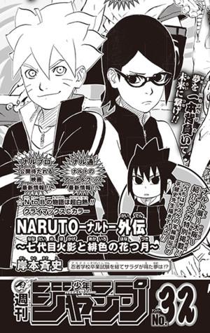 naruto-gaiden Naruto Gaiden Mangası Sona Eriyor