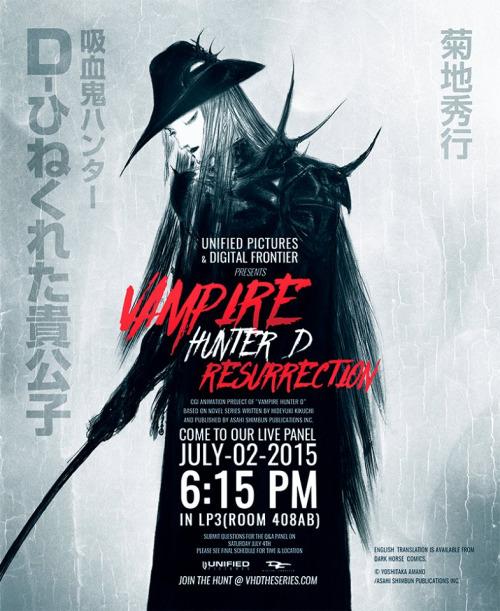 yeni-vampire-hunter-d-serisi Yeni Vampire Hunter D Serisi