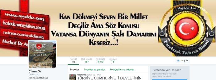 ayt MHP'li vekile karşı HDP'li vekili hacklediler