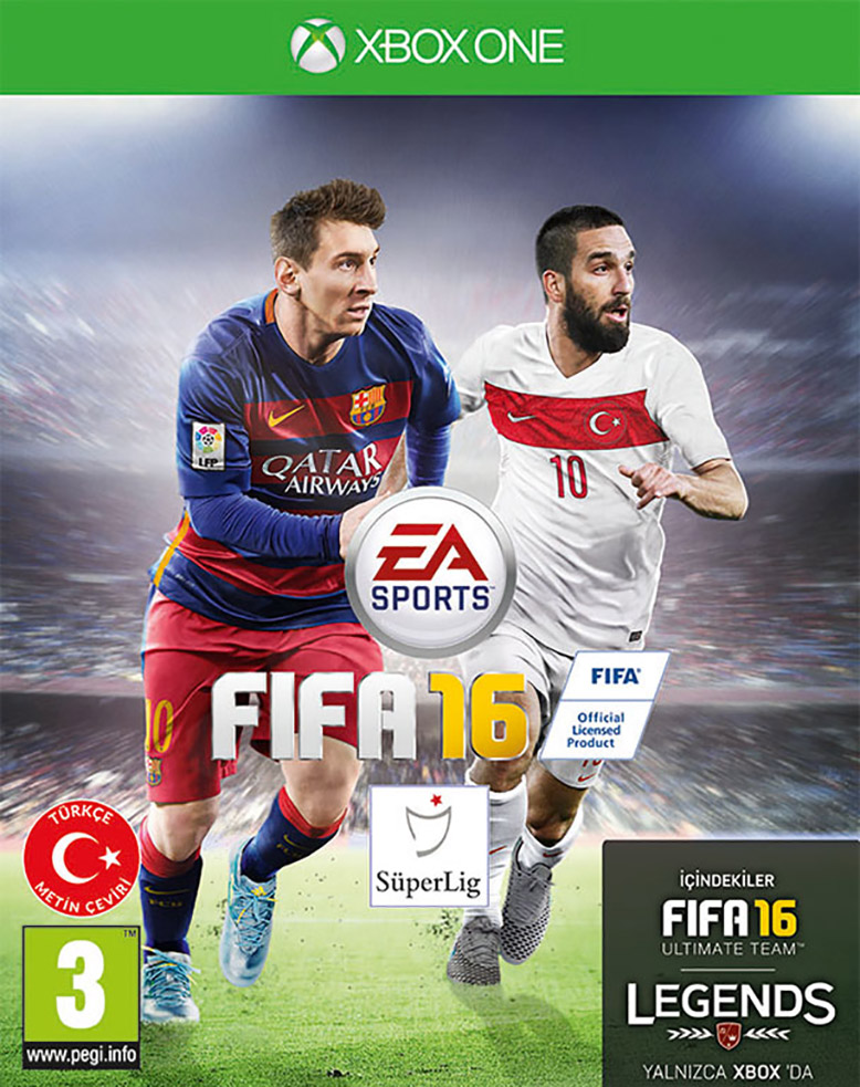 fifa-16-cover-turkey Arda Turan FIFA 16 Kapağında