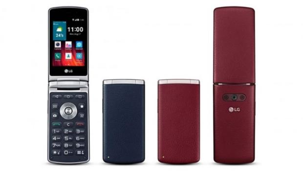 lg LG'den kapaklı telefon