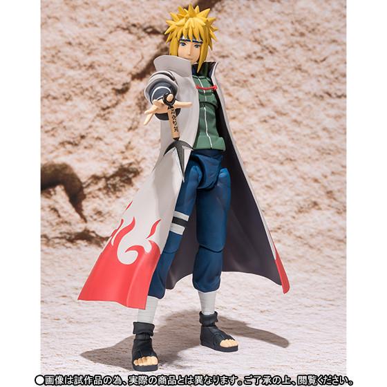 narutofig04 Naruto'nun Babası, Minato Namikaze Figürü çıktı