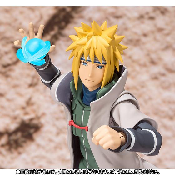 narutofig05 Naruto'nun Babası, Minato Namikaze Figürü çıktı