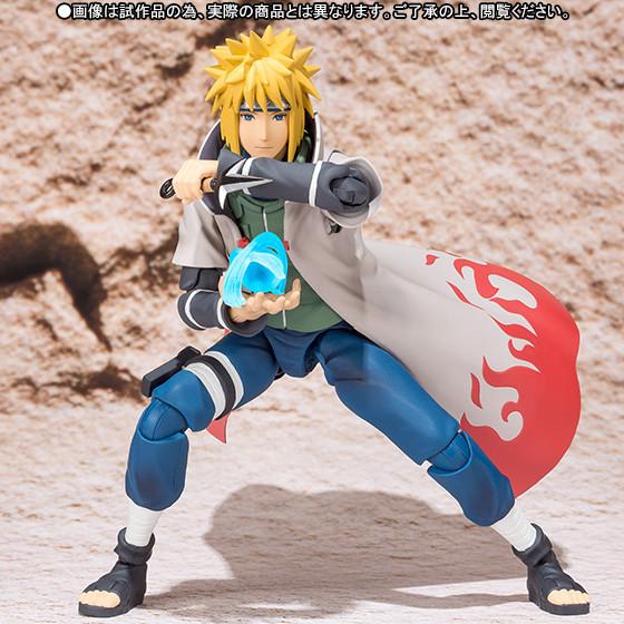 narutofig06 Naruto'nun Babası, Minato Namikaze Figürü çıktı
