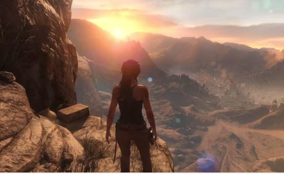 rise-of Rise of the Tomb Raider'dan Süper oynanış videosu