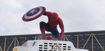 Civil-war Civil War'ın 2. fragmanında Spider Man kendini gösterdi