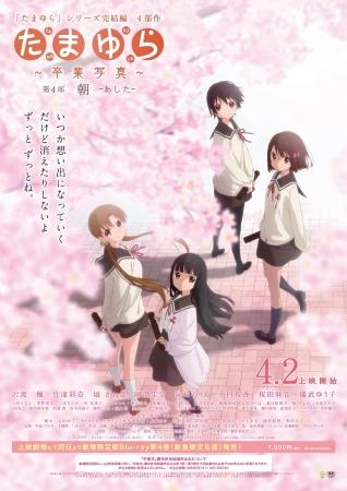 Tamayura-3 2 Nisan 2016 Tamayura: Sotsugyou Shashin Part 4 – Ashita