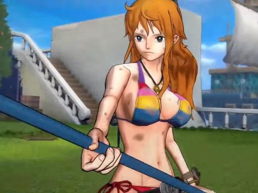 one-piece-nami One Piece Burning Blood'dan iki oynayış videosu geldi