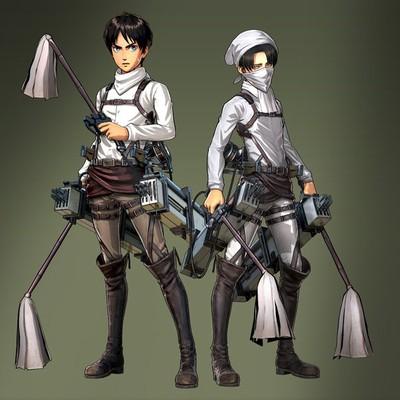AttackonTitan-temizlik Attack on Titan Oyunu Animeninde İlerisini Anlatacak
