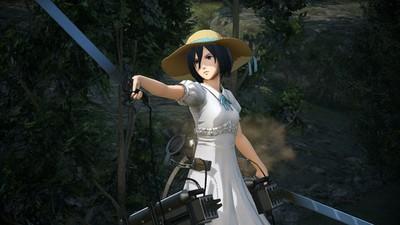 Mikasa-Festival Attack on Titan Oyunu Animeninde İlerisini Anlatacak